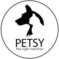 PETSY THE RIGHT NUTRITION