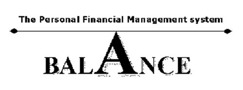 BALANCE THE PERSONAL FINANCIAL MANAGEMENT SYSTEM