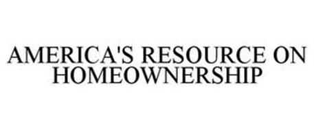 AMERICA'S RESOURCE ON HOMEOWNERSHIP