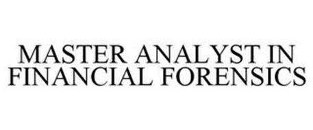 MASTER ANALYST IN FINANCIAL FORENSICS