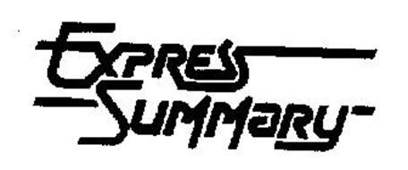EXPRESS SUMMARY