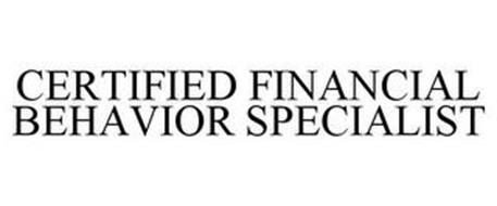 CERTIFIED FINANCIAL BEHAVIOR SPECIALIST