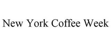 NEW YORK COFFEE WEEK
