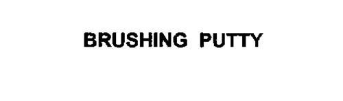 BRUSHING PUTTY