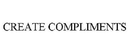 CREATE COMPLIMENTS