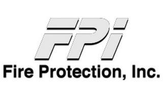 FPI FIRE PROTECTION, INC.