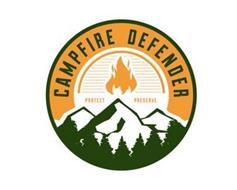 CAMPFIRE DEFENDER PROTECT PRESERVE