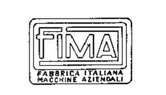 FIMA FABBRICA ITALIANA MACCHINE AZIENDALI