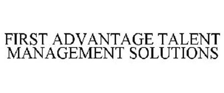 FIRST ADVANTAGE TALENT MANAGEMENT SOLUTIONS