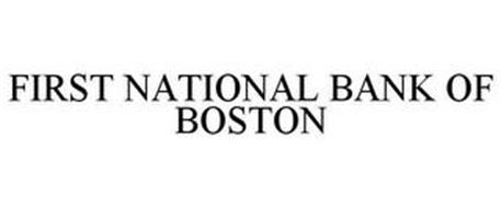 FIRST NATIONAL BANK OF BOSTON