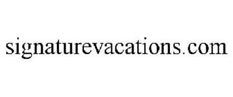 SIGNATUREVACATIONS.COM