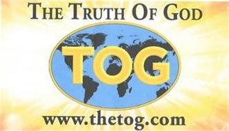 THE TRUTH OF GOD TOG WWW.THETOG.COM