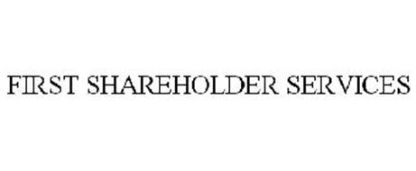 FIRST SHAREHOLDER SERVICES