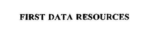 FIRST DATA RESOURCES