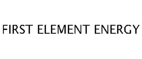 FIRST ELEMENT ENERGY