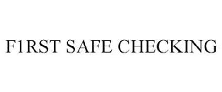 F1RST SAFE CHECKING