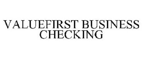 VALUEFIRST BUSINESS CHECKING
