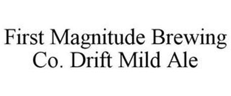 FIRST MAGNITUDE BREWING CO. DRIFT MILD ALE