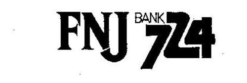 FNJ BANK 724