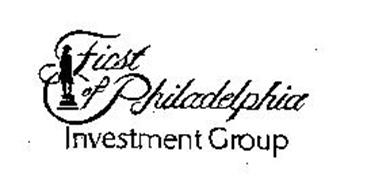 FIRST OF PHILADELPHIA INVESTMENT GROUP