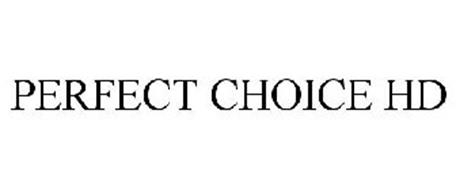 PERFECT CHOICE HD