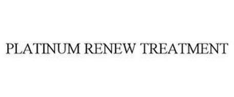 PLATINUM RENEW TREATMENT