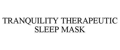 TRANQUILITY THERAPEUTIC SLEEP MASK