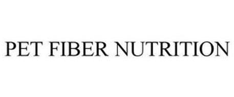 PET FIBER NUTRITION