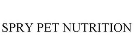 SPRY PET NUTRITION
