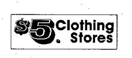 $5. CLOTHING STORES