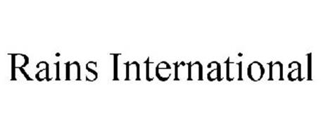 RAINS INTERNATIONAL