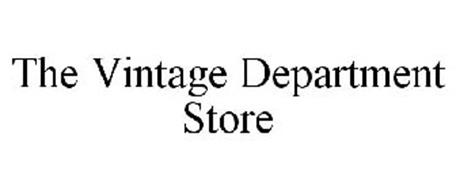 THE VINTAGE DEPARTMENT STORE