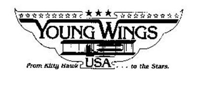 YOUNG WINGS USA FROM KITTY HAWK...TO THE STARS