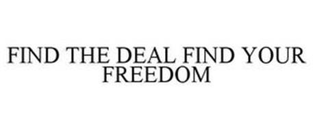 FIND THE DEAL FIND YOUR FREEDOM