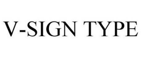 V-SIGN TYPE