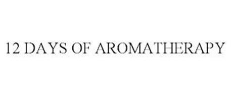 12 DAYS OF AROMATHERAPY