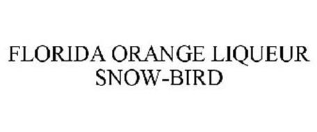 FLORIDA ORANGE LIQUEUR SNOW-BIRD