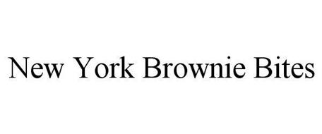 NEW YORK BROWNIE BITES