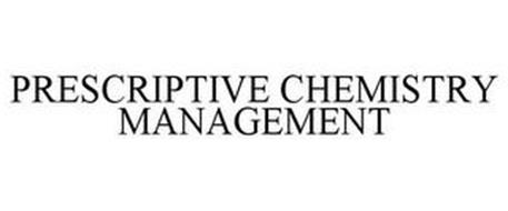 PRESCRIPTIVE CHEMISTRY MANAGEMENT