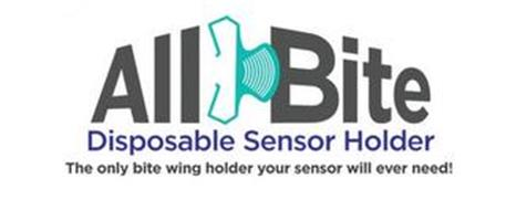 ALL BITE DISPOSABLE SENSOR HOLDER THE ONLY BITE WING HOLDER YOUR SENSOR WILL EVER NEED!