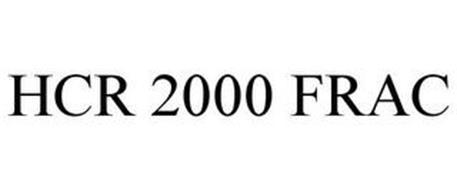 HCR 2000 FRAC