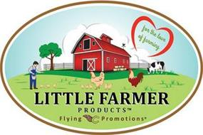 LITTLE FARMER PRODUCTS FLYING C PROMOTIONS FOR THE LOVE OF FARMING