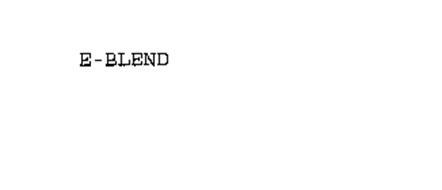 E-BLEND