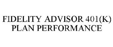 FIDELITY ADVISOR 401(K) PLAN PERFORMANCE