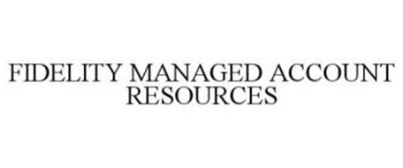 fidelity managed account resources trademark of fmr llc