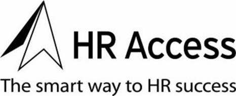 HR ACCESS THE SMART WAY TO HR SUCCESS