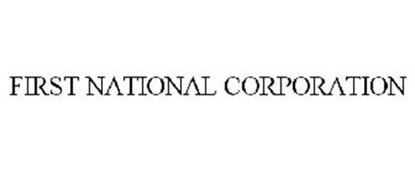 FIRST NATIONAL CORPORATION