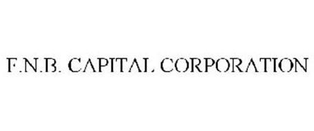 F.N.B. CAPITAL CORPORATION