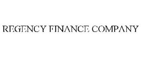 REGENCY FINANCE COMPANY