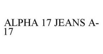 ALPHA 17 JEANS A-17